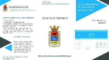 Activa la Sede Electrónica del Ayuntamiento de Los Palacios y Villafranca