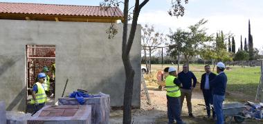 La Carpa Multifuncional del Parque de las Marismas contará con aseos fijos y accesibles con el proyecto del Plan Generador de Empleo Estable