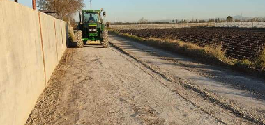 El Ayuntamiento acomete actuaciones de urgencia en los caminos rurales de titularidad municipal más afectados por las últimas lluvias