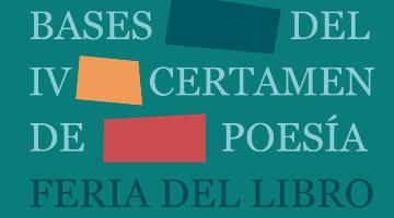 Bases IV Concurso de Poesía Feria del Libro de Los Palacios y Villafranca