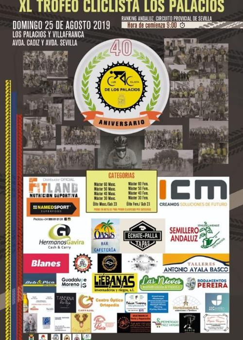 Andalucia Ciclismo Calendario.Todo A Punto Para El Trofeo Ciclista Los Palacios Un