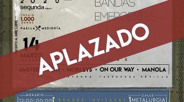Aplazado el II Concurso de Bandas Emergentes Garito's Band