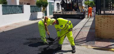 El Ayuntamiento acomete el asfaltado de 6.400 m² de calles y otras mejoras con cargo al Plan Supera VII