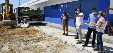 En marcha las obras para la construcción de nuevas gradas y cubiertas en el Estadio Municipal San Sebastián  con cargo al PFOEA