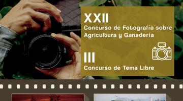 XXII CONCURSO DE FOTOGRAFÍA SOBRE AGRICULTURA Y GANADERÍA